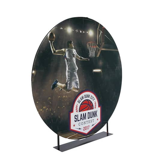 7ft EZ Extends Circle Banner Stand