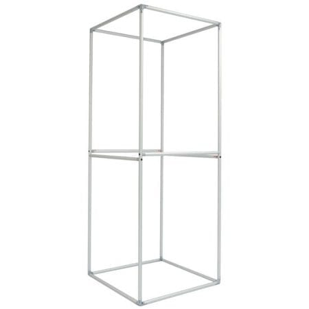 8ft Tension Fabric Tower - Square Framec Only