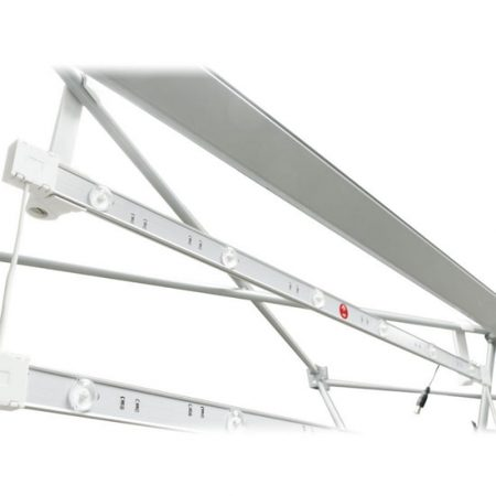 Ladder lights on frame