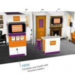 Trade Show Panoramic Display h20-27