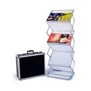 Trade Show Booth Ideas Literature Rack