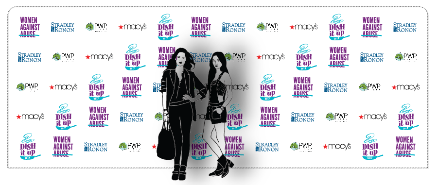 Step & Repeat Women Against Abuse Philadelphia Mars2017