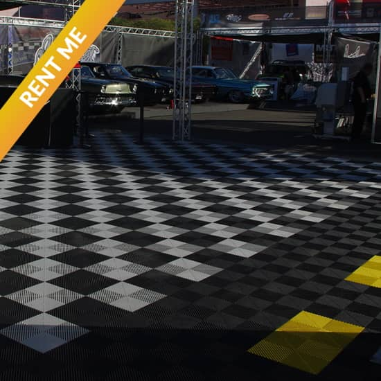 Interlocking Trade Show Rental Tiles