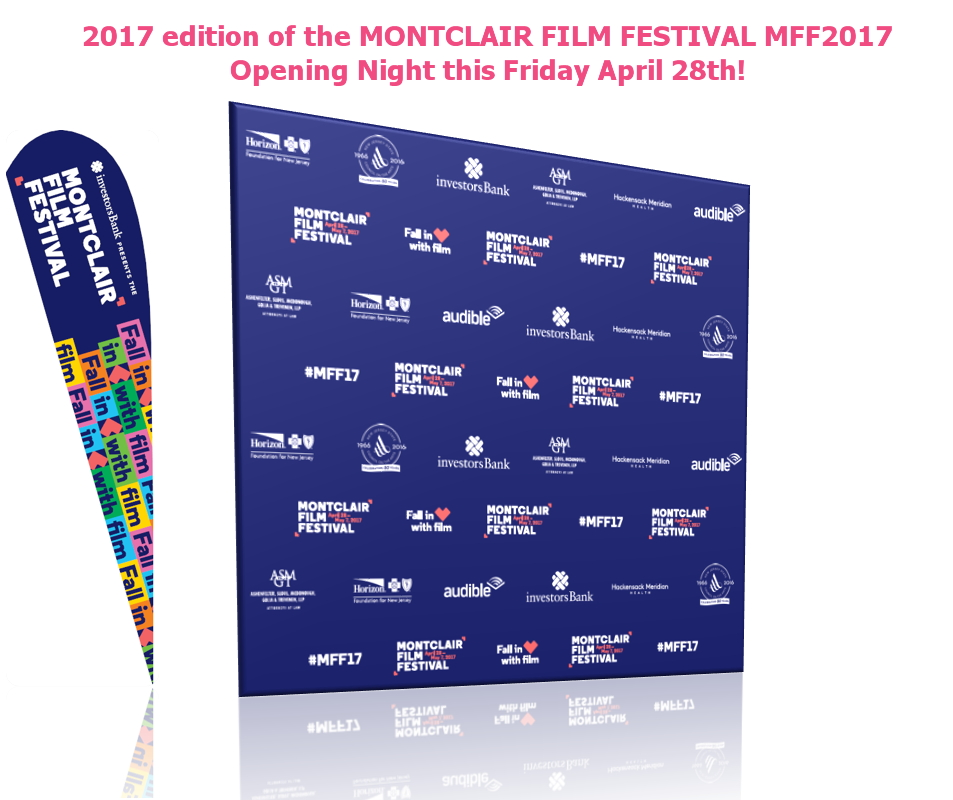 Montclair Film Festival 2017 Step & Repeat Backwalls