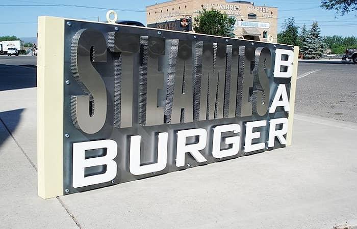 3D Metal Signs