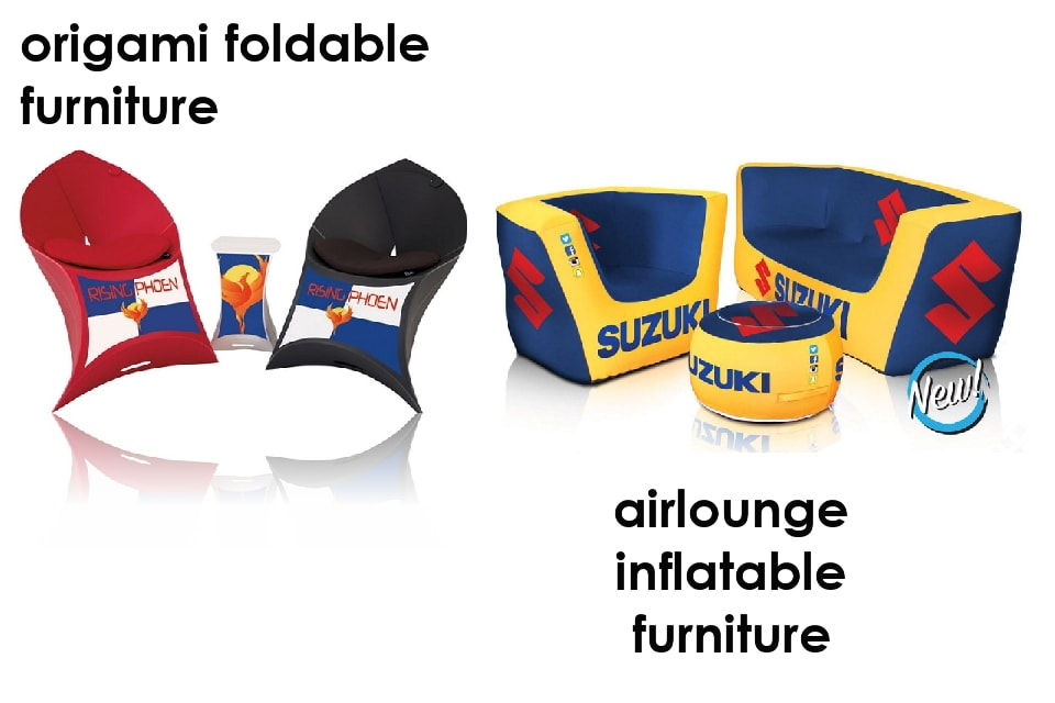 Inflatable and Foldable furniture options