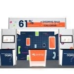 20x20 Turnkey Rental Booth LL43 1
