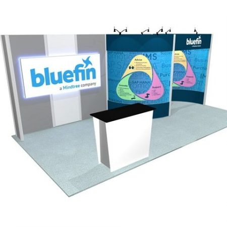 10'X20' Turnkey Trade Show Rentals