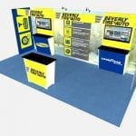 10X20 TURNKEY RENTAL BOOTH ML73-3 ABOVE