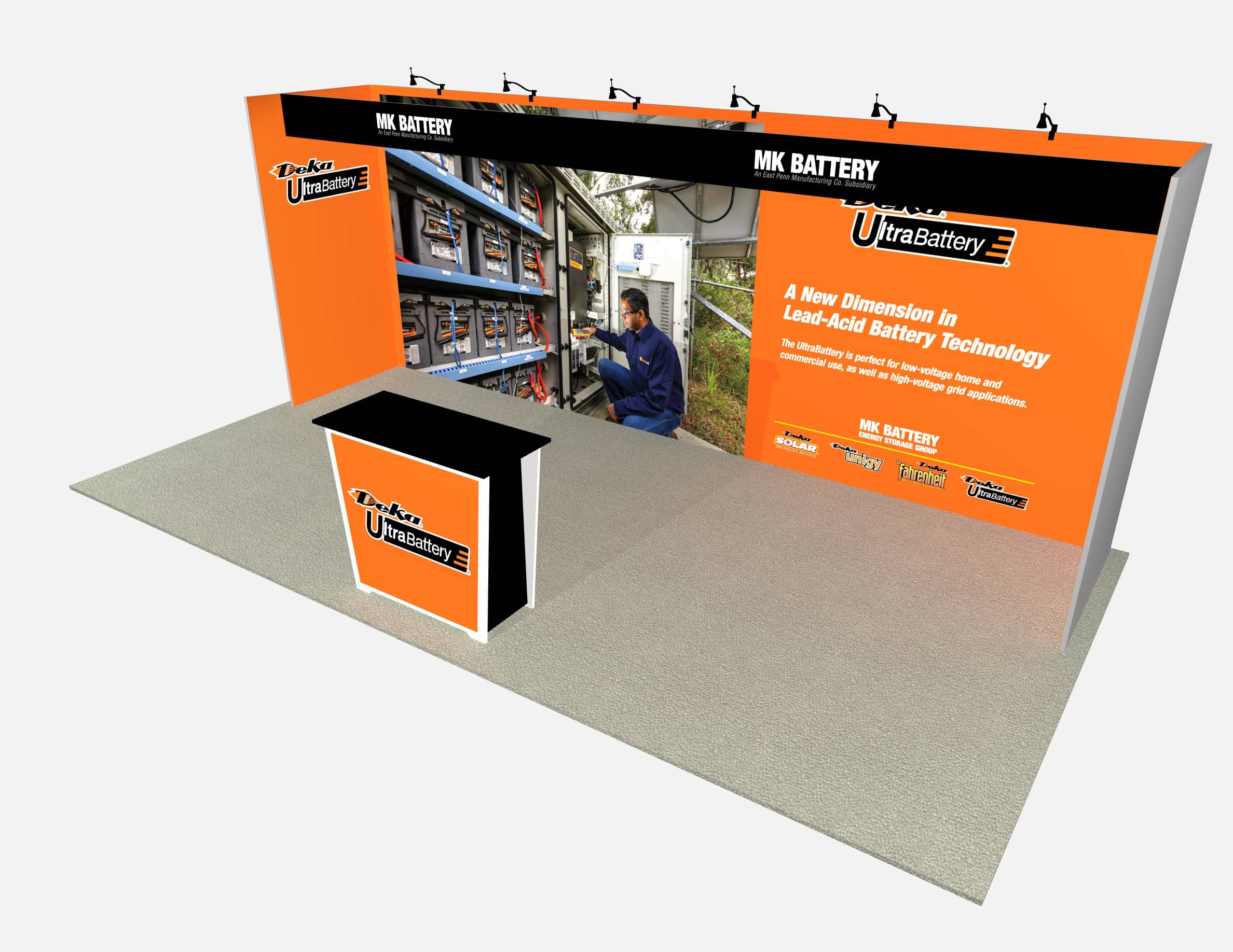 10X20 Turnkey Rental Booth ML73-1 MAIN 2