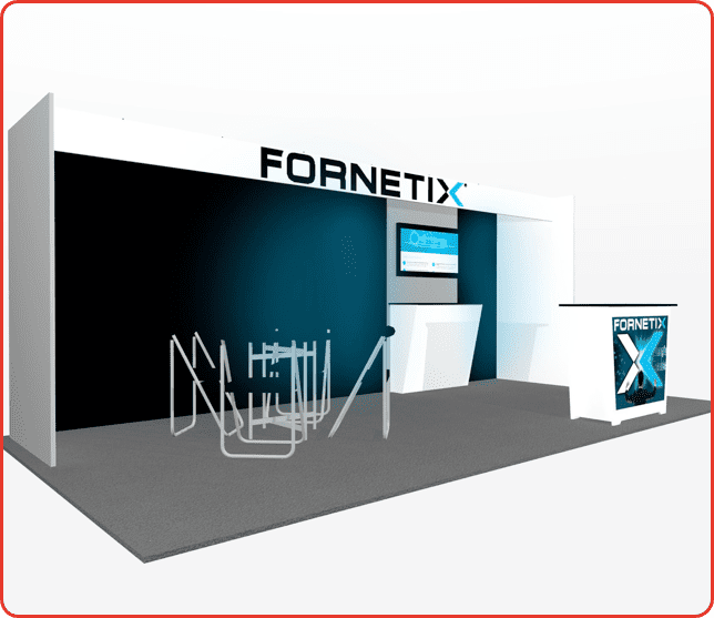 10x20 10x20 turnkey rental booth ml73-2 graphic package a