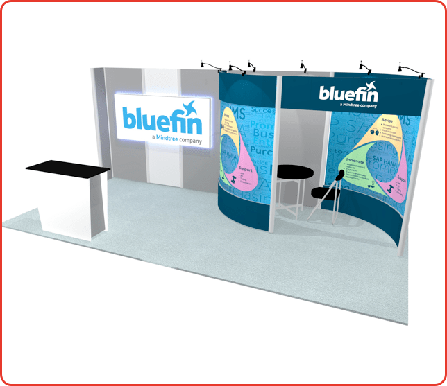 10x20 turnkey rental booth graphic package a ml13