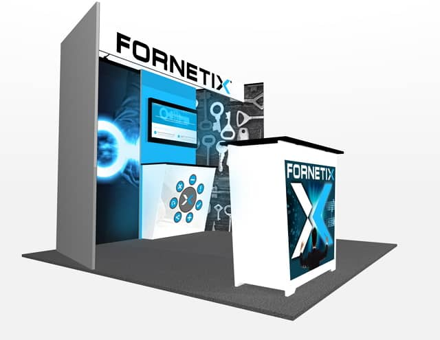 10x10 Turnkey Rental Booth MM73-2