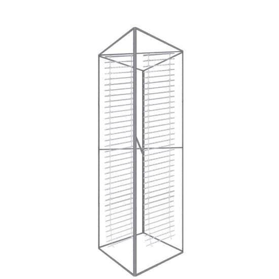 12ft x 5ft-Backlit Trade Show Tower Frame with Ladder Lights