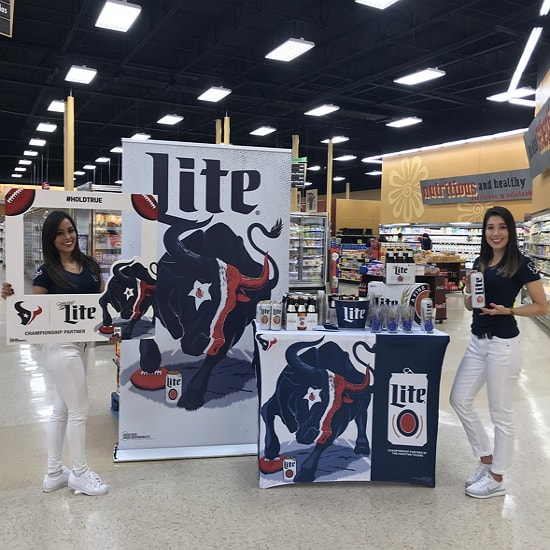 miller lite exhibit