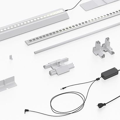 Backlit Banner Stand Components