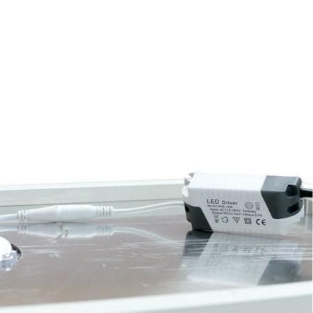 Backlit Shelf Display Pop Up Kit, light with transformer