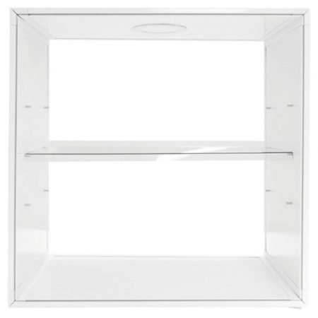 Backlit Shelf Display Pop Up Kit, straight angled shelf