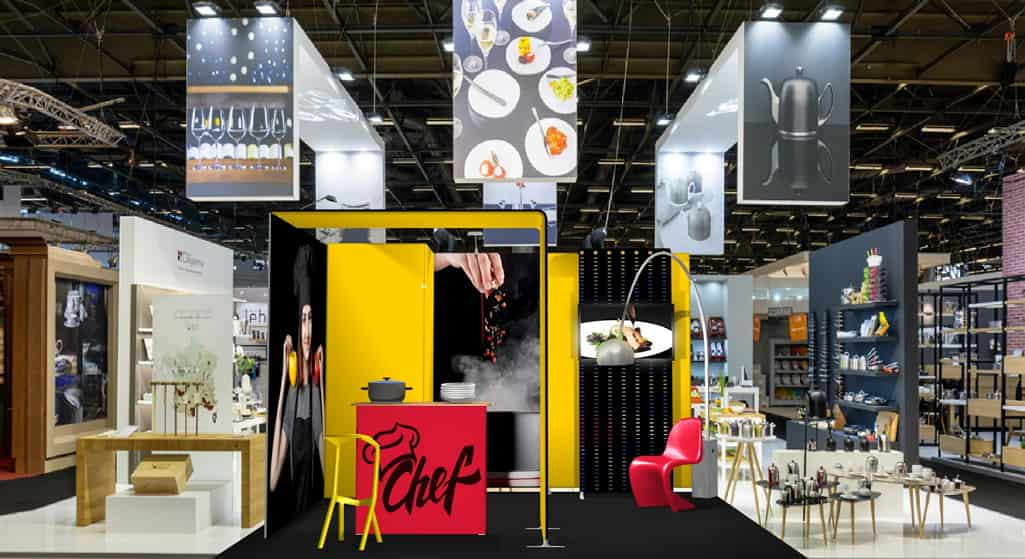 Housewares & cooking themed Contour Booth
