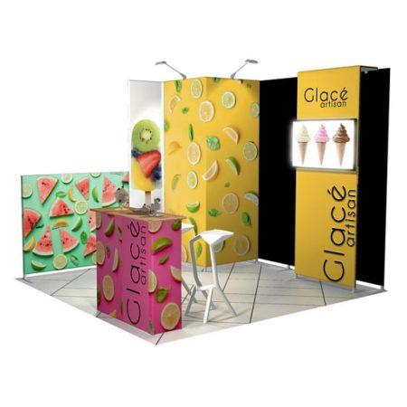 Duo Portable Contour Booth