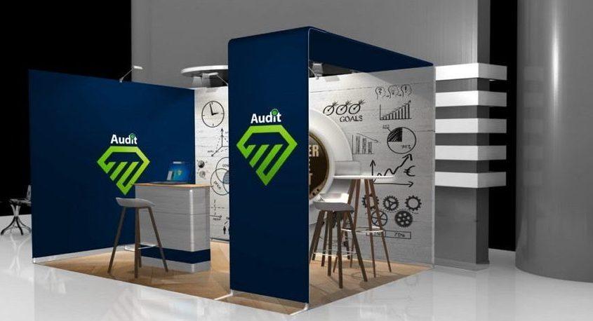 Audit contour booth