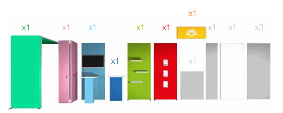 Duo h-line Standard Kits