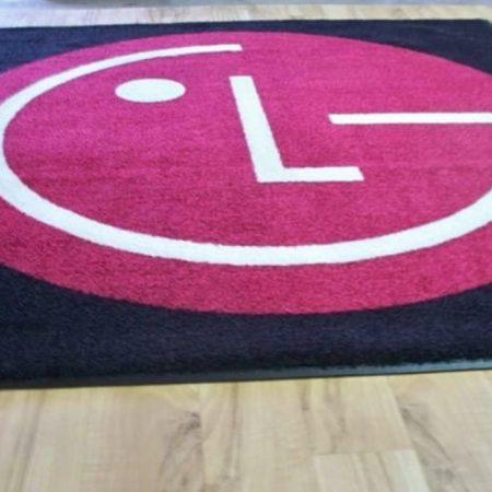 Logo Inlay Carpet & Rugs