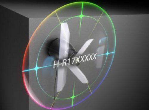 Hologram 3D Display Animation