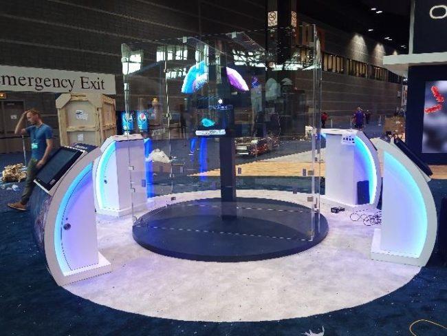 AbbVie booth ASCO 2019 in Chicago