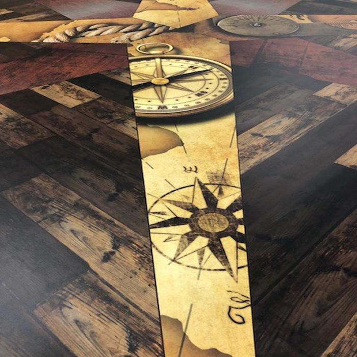 Custom Vinyl Flooring