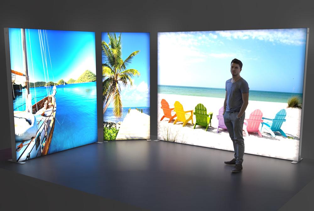 SEG - Backlit Lightbox Display