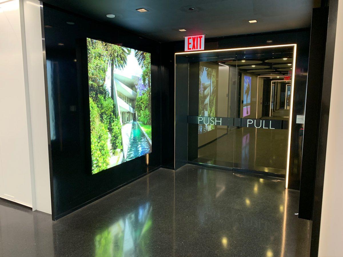 LED Backlit Displays CondeNast