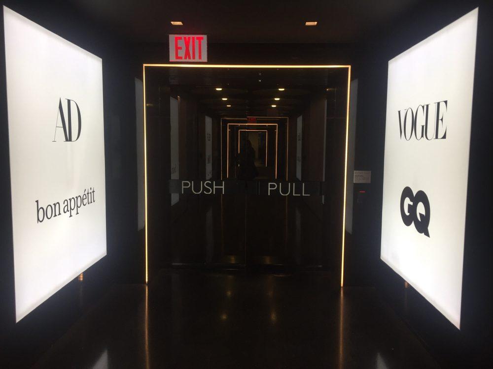 Wall LED Display CondeNast