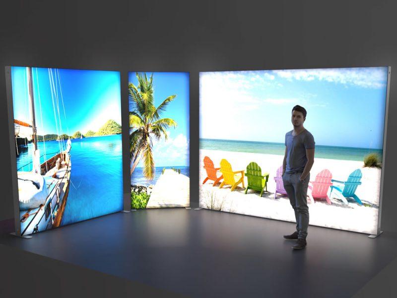 Backlit SEG Display