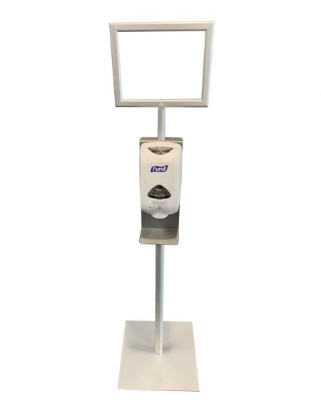 Hand Sanitizer Stand in stock