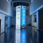 Custom Backlit Trade Show Tower