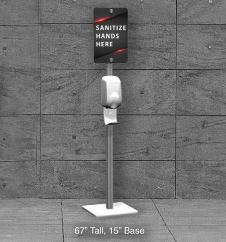 Hand Sanitizer Stand Chart
