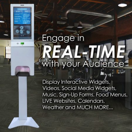 Real Time Digital Signage Engagement