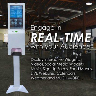 Real Time Digital Signage Engagement