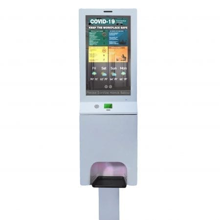 Smart Digital Sanitizer Kiosk