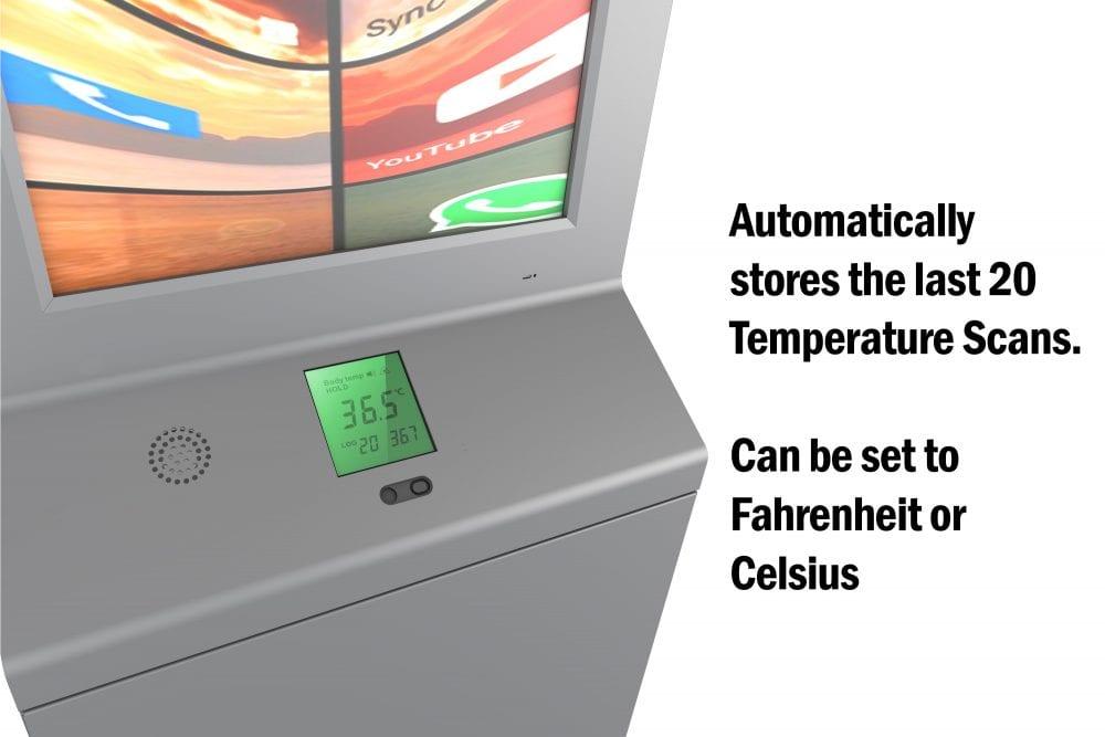 Smart DIgital Sanitizer Kiosk