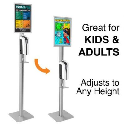 Automatic Hand Sanitizer Stand Adjustable