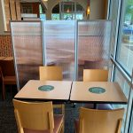 Restaurant-Bar-–-Accordion-Folding-Divider-Fluted-Plexi-with-Raised-Bottom-Panera