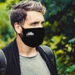 Mask men black – 3 layer