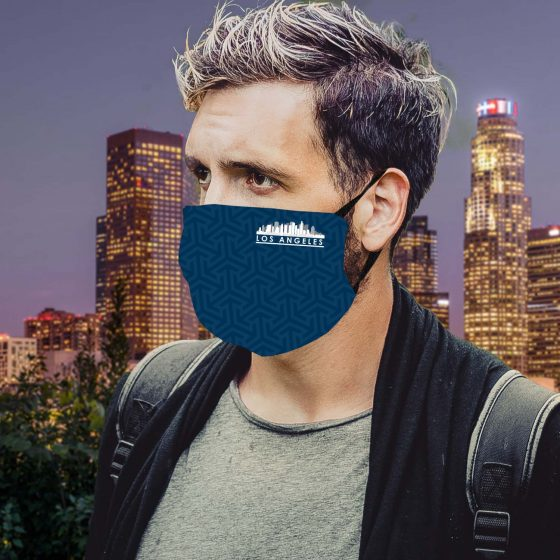 Los Angeles Printed Mask