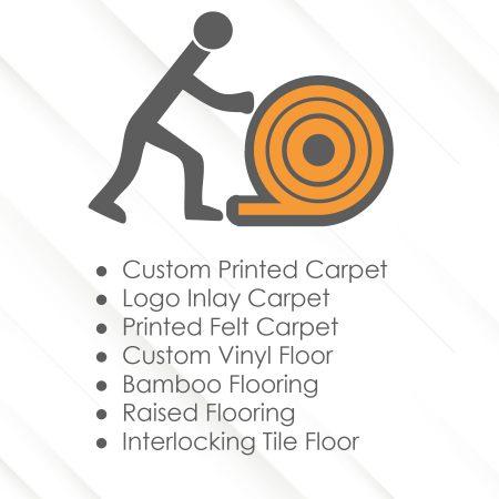 Custom Exhibit Floor