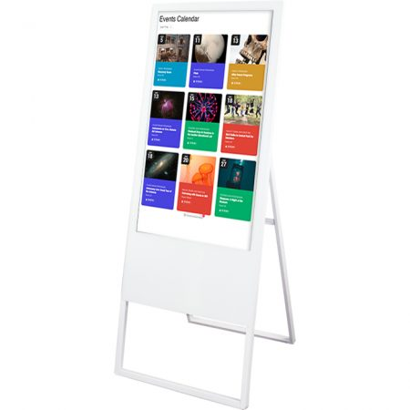 LCD Banner Stand