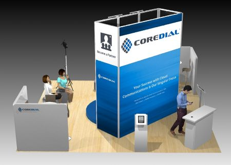 20x20 LED Video Booth