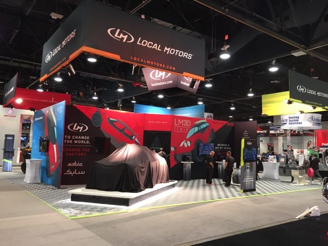 Custom Tension Fabric Trade Show Booth