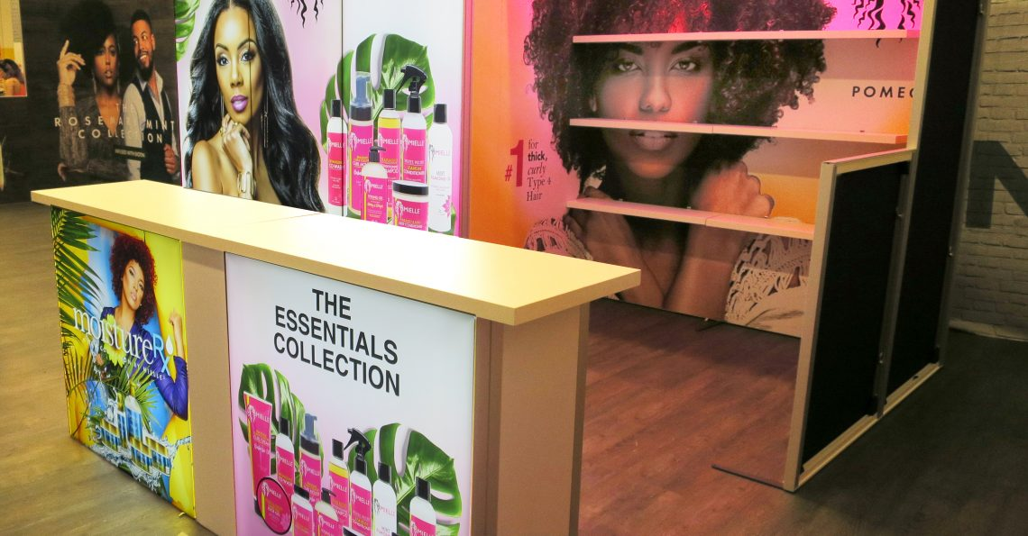 Duo Display 10x30 Trade Show Booth